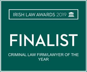 Irish Law Awards - Criminal Law Firm / Lawyer of the year